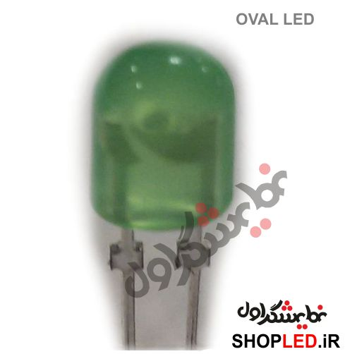 LED-OVAL-GREEN
