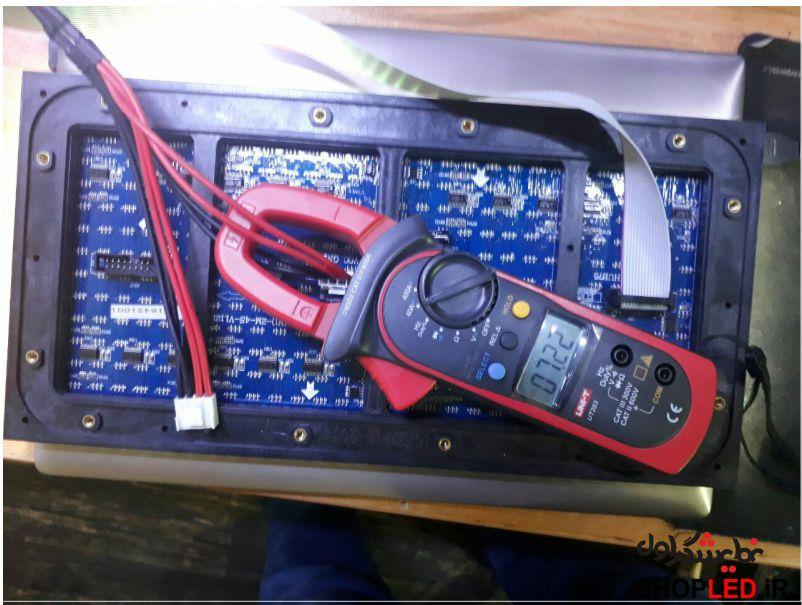 جریان مصرفی ماژول فولکالر پی 10 پرنور با ولتاژ 5 ولت